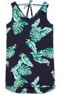 Sandwich Clothing Tropical Print Sleeveless Dress