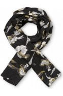 Masai Clothing Along Floral Design Scarf
