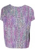 A Postcard from Brighton Pia Leopard Print Top
