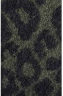 b.young Olive Animal Print Scarf