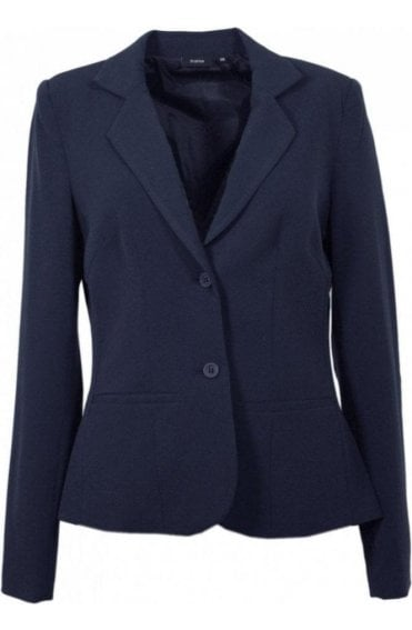 Classic navy tailored jacket