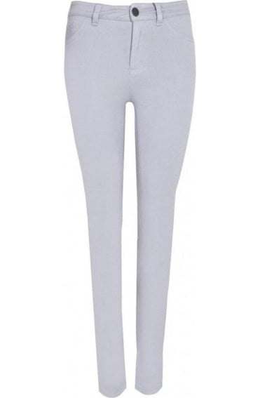 Olivia Love Denim skinny jeans light grey