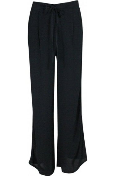 Black Wide Leg Trousers
