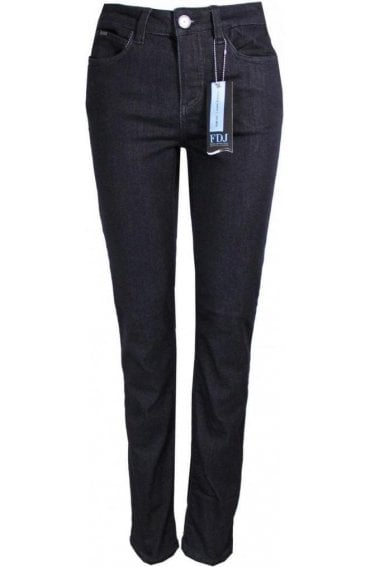 Olivia Slim Leg Jeans Dark Denim