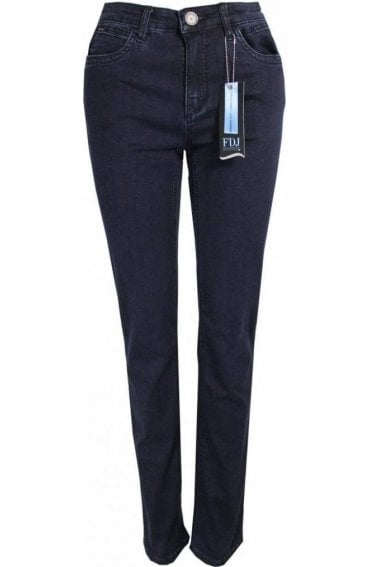 Straight Leg Olivia Jeans dark denim