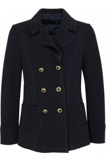 Navy Military Style Jacket