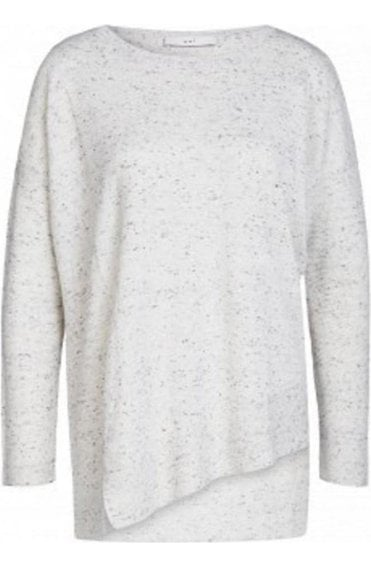 Speckle Effect Knit Sweater