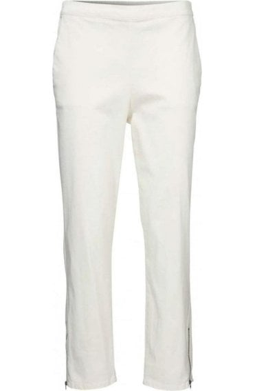 Padme Off White cropped trousers