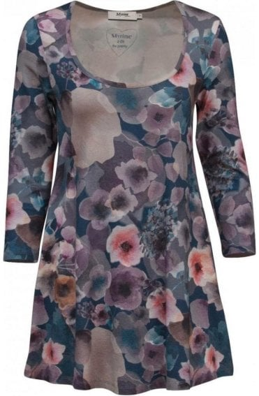 Roza Floral Print Tunic
