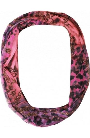 Semi Sheer Patterned Snood