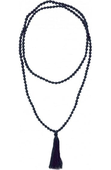Ariel indigo necklace