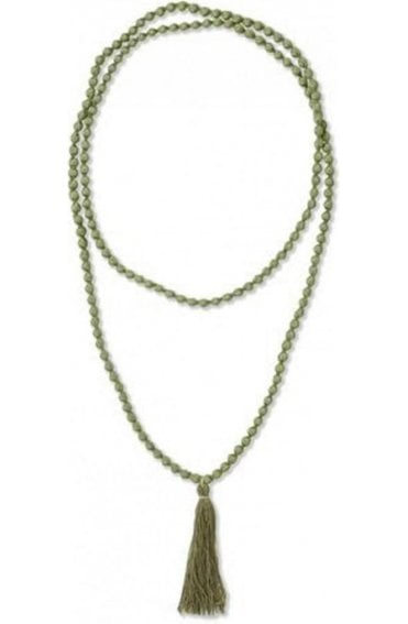 Ariel Celery green necklace