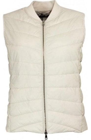 White Sand Quilted Waistcoat