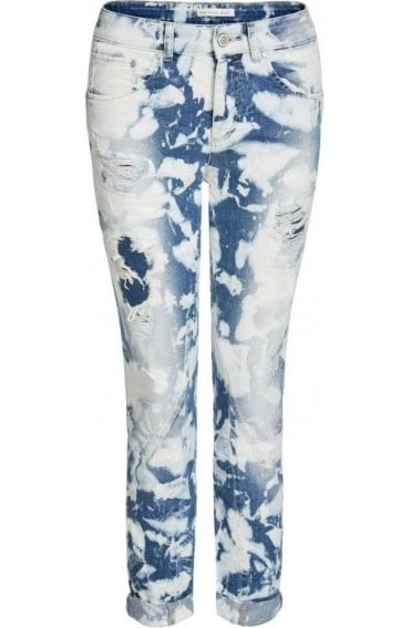 Distressed Chester Girlfriend Jeans