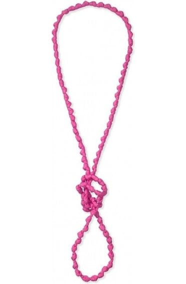 Asti Pink Knot Necklace