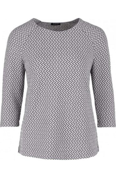 Embossed Patterned Top
