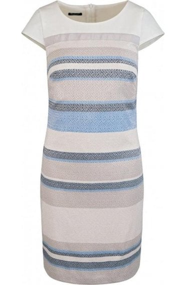 Stripe Design Shift Dress