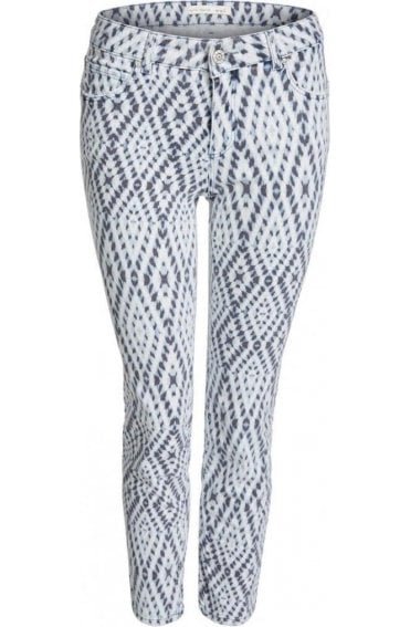 Patterned Baxtor Jeggings