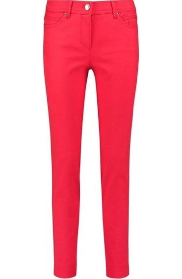 Vibrant Pink Slim Fit Jeans