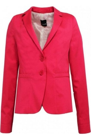 Vibrant Pink Tailored Jacket