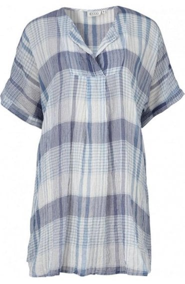 Gisan Checked Print Tunic