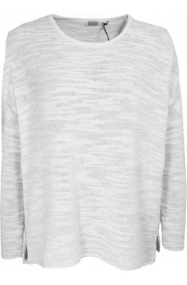 Felise white knit Sweater
