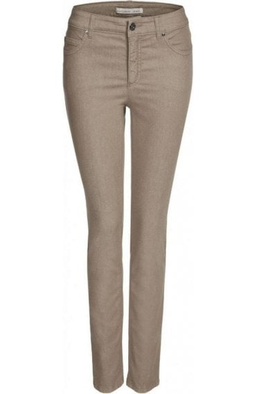 Taupe Baxtor Jeggings