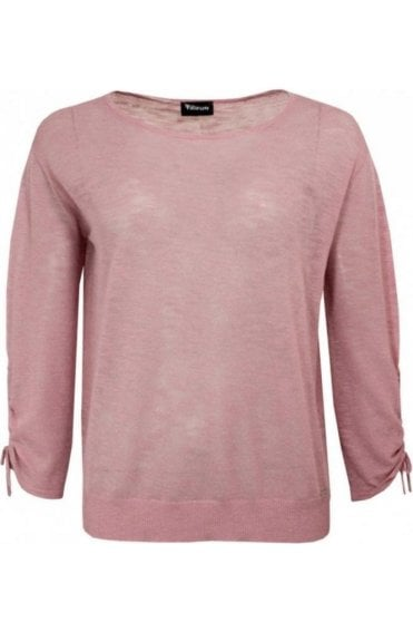 Pink Fine Knit Sweater