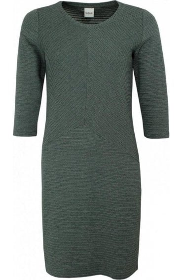 Evergreen  Ribbed Dress