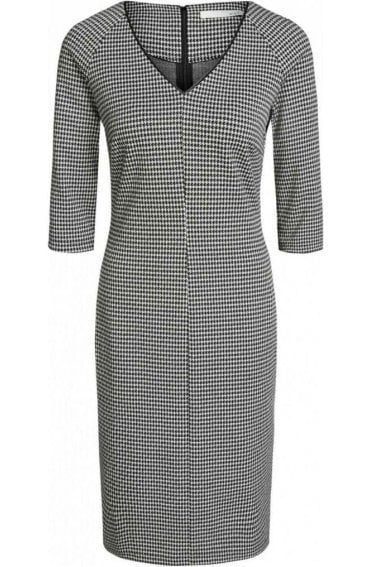 Dog Tooth Check Dress