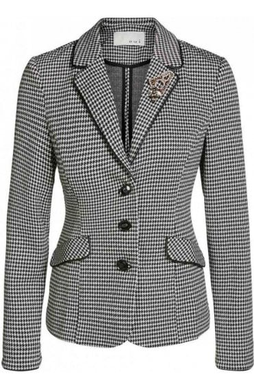 Dog Tooth Check Jacket