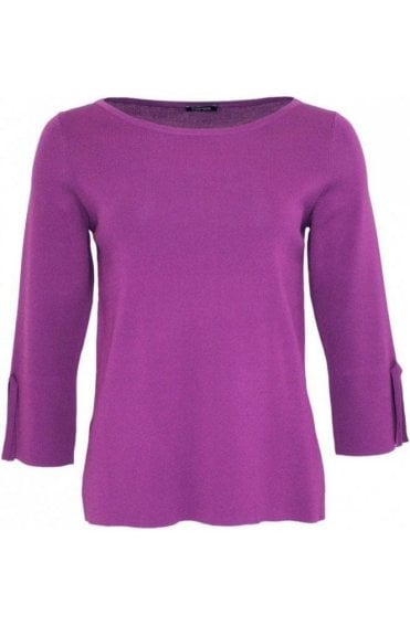 Purple Fine Knit Sweater
