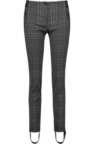 Dog Tooth Check Trousers