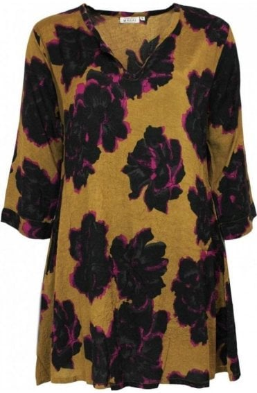 Gladys Bold Floral Print Tunic