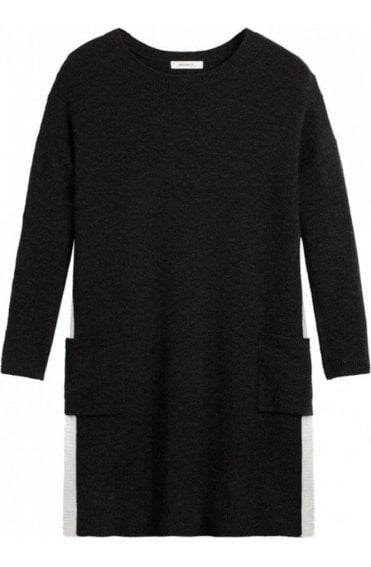 Grey/Black Knit Tunic