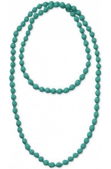 Adinas Mineral Blue Bead Necklace