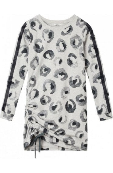 Fresh Grey Animal Print tunic
