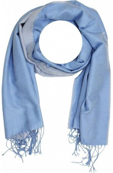 Pale Blue Scarf