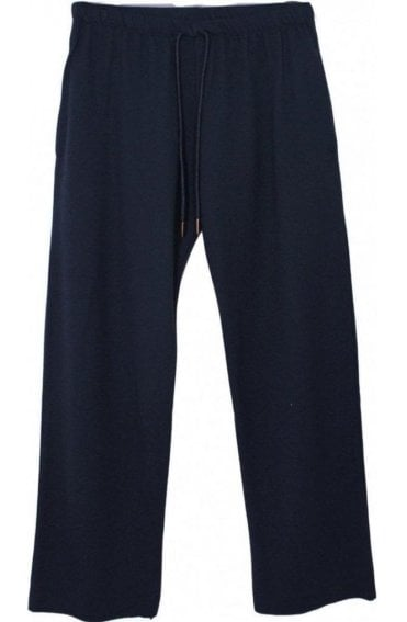 Ellie Black Jersey Culotte Pants