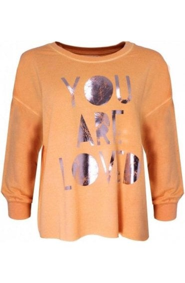 Loved Melba jersey Sweatshirt