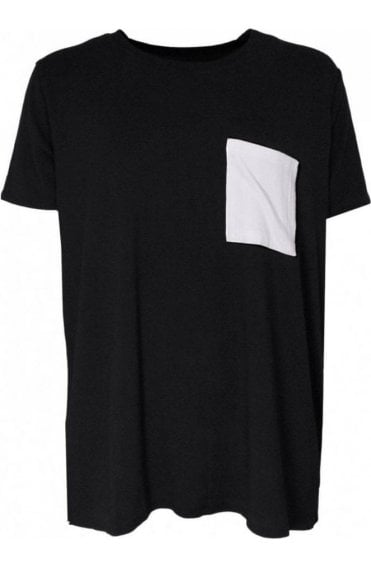 Patchey Soft Black jersey Tee