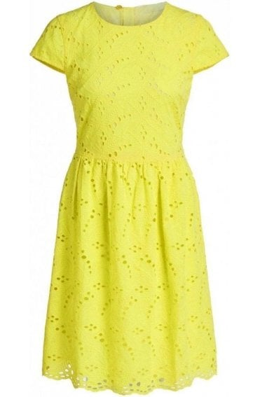 Celandine Cotton Anglaise Dress