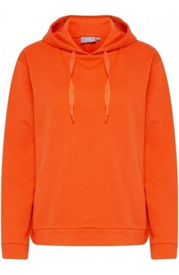 Tulip Orange Hooded Sweatshirt