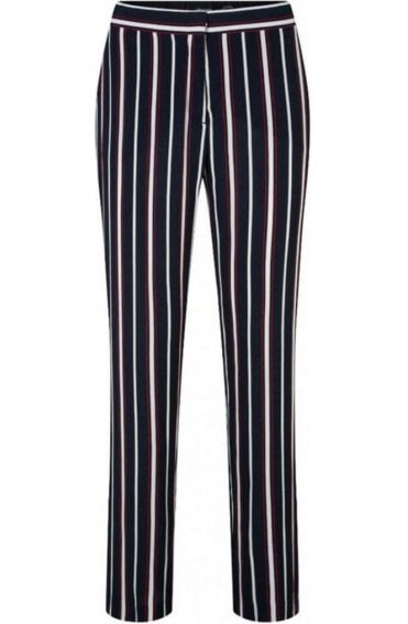 Striped Mona Straight Leg Trousers