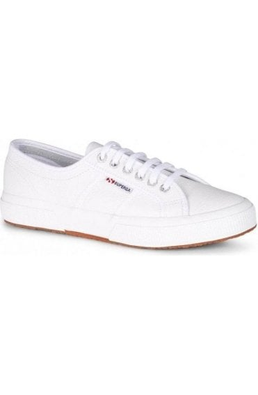 Superga Shoes White Leather 2750