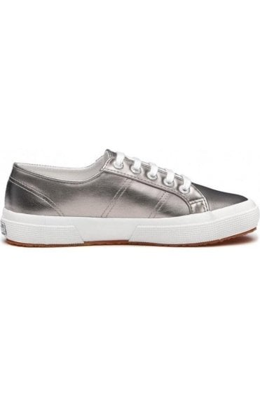 Superga Shoes 2750 Grey Metallic