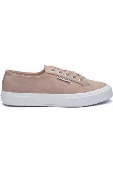 Superga Shoes Dark Rose suede leather