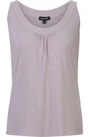 Light Taupe Jersey Vest Top