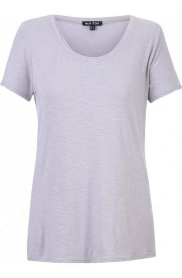 Taupe Jersey T-Shirt