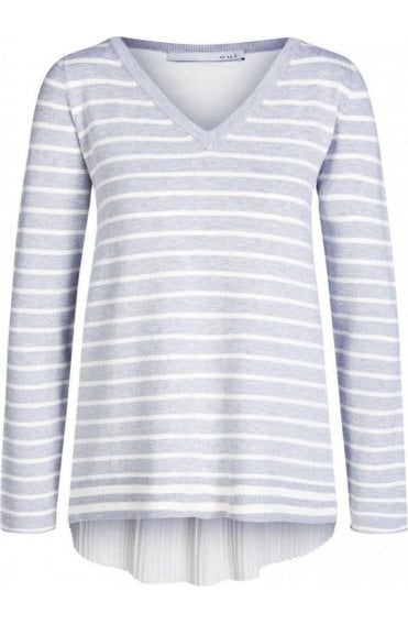 Striped Layered Effect Jumper